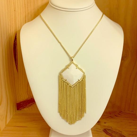 Kendra Scott Jewelry - NWT Kendra Scott Kingston Long Pendant Necklace
